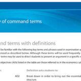 【IB DP】Exam対策に必須のCommand Termとは?
